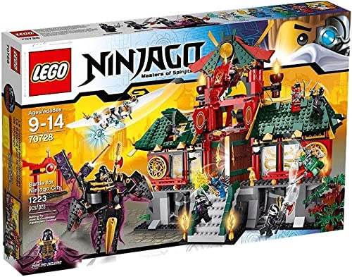 precios al por mayor LEGO Ninjago 70728 Battle for Ninjago Ninjago Ninjago City (Discontinued by manufacturer)  suministro directo de los fabricantes