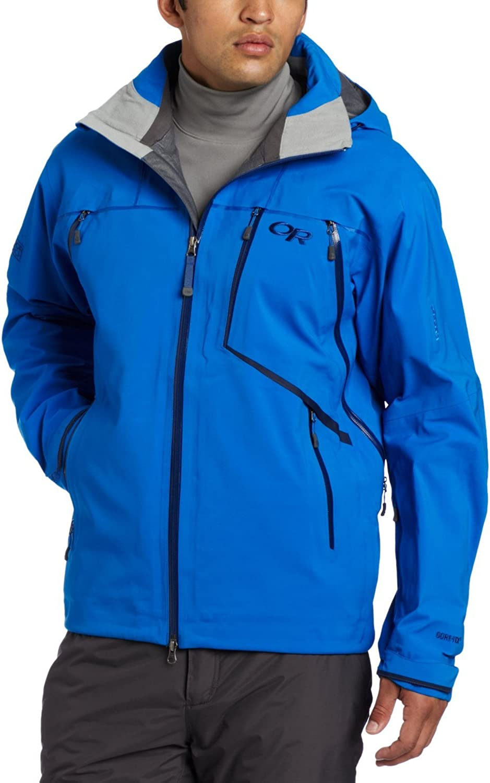 Outdoor Research Men's Vanguard Jacket, Glacier, Small
