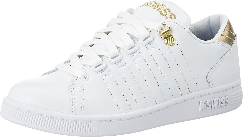 K-Swiss Women's Lozan III TT Leather Sneakers White gold