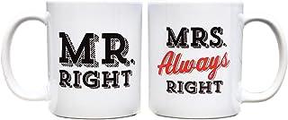 السيد فنجان القهوة رايت آند مسز دائما رايت - 325.3 مل