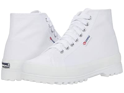 Superga 2341 Alpina Cotu Sneaker (White) Women