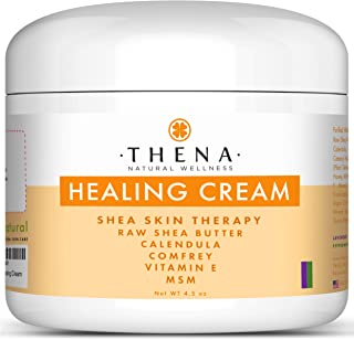 Best Healing Cream For Eczema Psoriasis Dry Itchy Skin Rosacea Rashes Seborrheic Dermatitis Scalp Treatment Natural Organi...