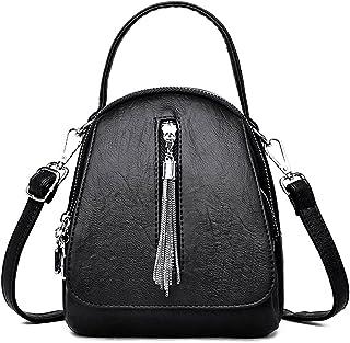 Yansyuiong حقيبة ظهر للنساء، حقائب ظهر جلدية نسائية ذات جودة عالية حقيبة يومية كاجوال حقيبة سفر حقيبة ظهر حقيبة سفر حقيبة ...