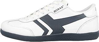 Boras SP Retro Sports Socca Sneaker in taglie forti, bianco, 3541-0062