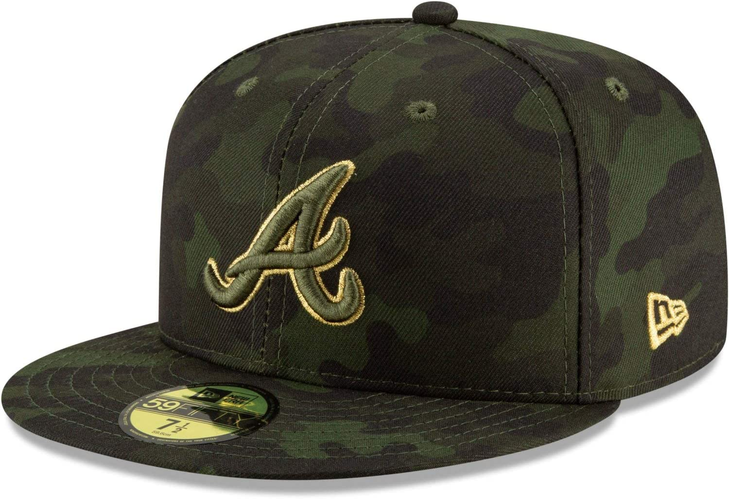 New Era Atlanta Braves 2019 MLB Day On-Field 59FIFT Armed Genuine Free Shipping Houston Mall Forces