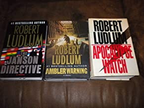 Set of 3 Hardcover ~ The Ambler Warning, The Janson Directive, The Apocalypse Watch