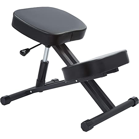CO-Z バランスチェア バックボーンチェア 姿勢矯正 骨盤矯正 腰痛 オフィスチェアー 高さ調整 人間工学 ニーリングチェア (Bキャスターなし)