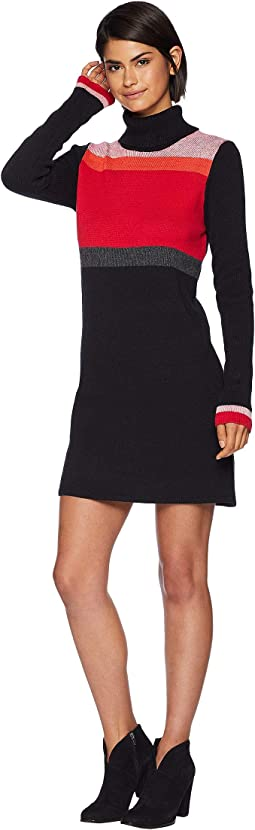Winter Break Sweater Mini Dress