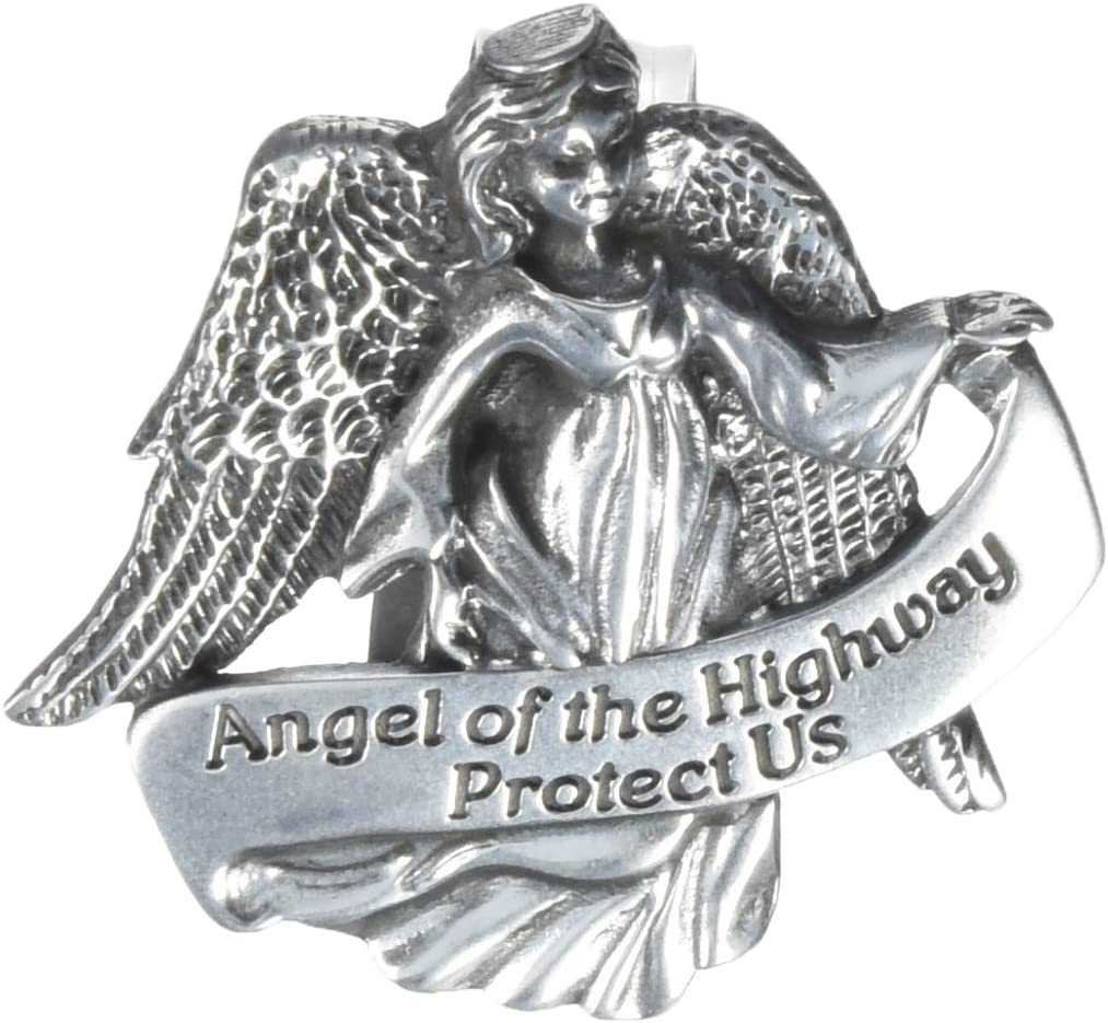 Cathedral Art Angels at Work and Play Visor Clip Silver Policeman