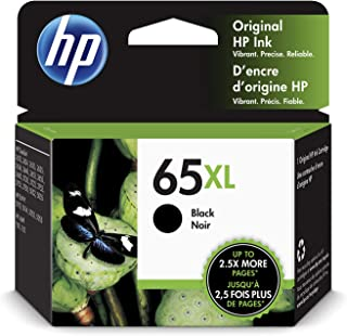 HP 65XL | Ink Cartridge | Works with HP Deskjet 2600 Series, 3700 Series, HP ENVY 5000 Series, HP AMP 100, 120, 125, 130 |...