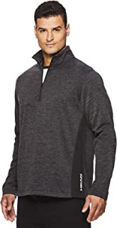 HEAD Men's 1/4 Zip Up Activewear Pullover Jacket - Long Sleeve Running & Workout Sweater
