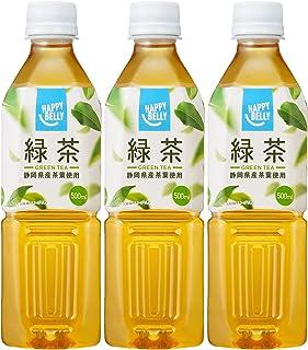 [Amazonブランド]Happy Belly 緑茶 500ml×3本