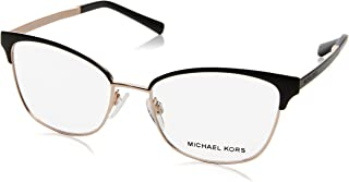 Michael Kors ADRIANNA IV MK3012 Eyeglass Frames 1113-51 - Black/rose Gold