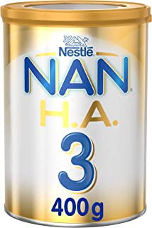 Nestlé NAN H.A. Stage 3, From 1 to 3 years, Hypoallergenic Growing Up Milk, Fortified with Iron 400g