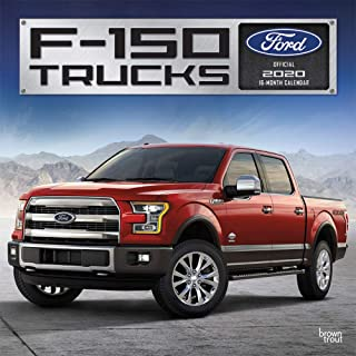 Ford F150 Trucks 2020 12 x 12 Inch Monthly Square Wall Calendar, Automotive Manufacturer F-Series