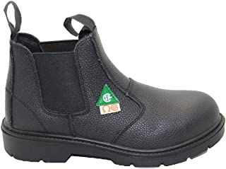 DOLPHIN D5 US Standard Approved, Leather, Safety Shoes, Construction booots