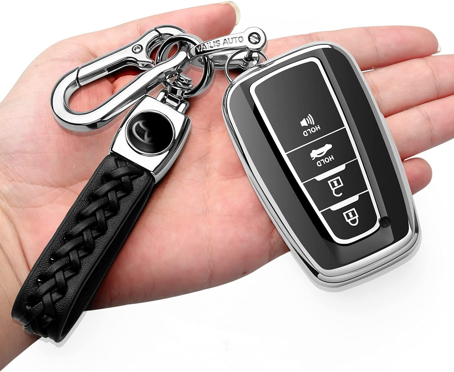 Autophone for Toyota Key Fob Cover Soft TPU Max 80% OFF with Japan's largest assortment De Keychain 360