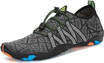 Mujer Zapatos de Agua para Hombre Surf Escarpines Playa Natación Respirable Antideslizante Playa Natación Aire Libre 35-46