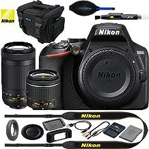 $469 Get Nikon D3500 24.2MP DSLR Camera w/AF-P 18-55mm VR Lens & AF-P DX 70-300mm f/4.5-6.3G ED Lens - Basic Accessories Bundle
