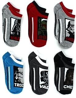 Star Wars Boys Teen Mens Multi pack Socks