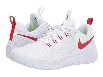 Nike Zoom HyperAce 2 (White/University Red) Women