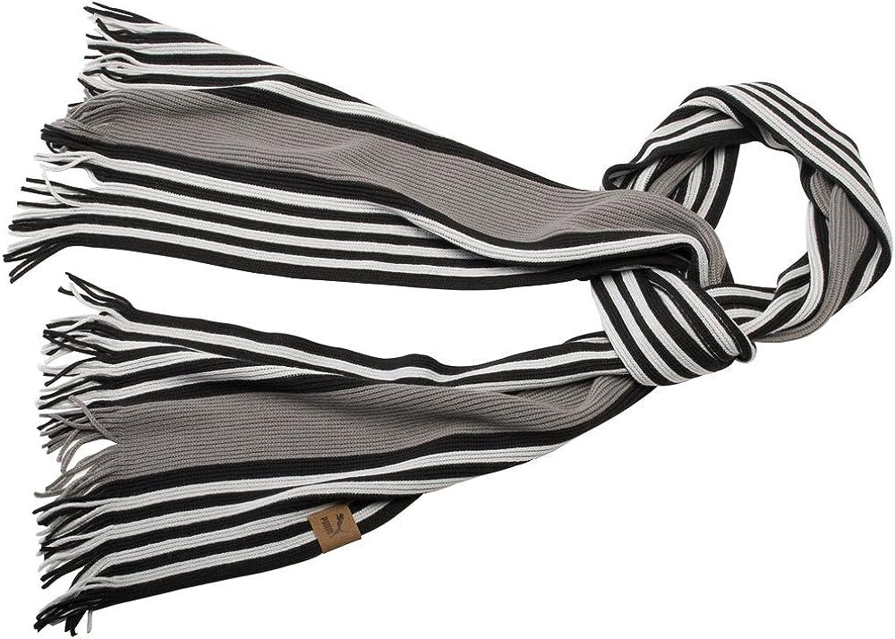 Puma Unisex Adults Heritage Striped Scarf