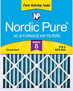 Nordic Pure 18x20x2PBS-3 Pure Baking Soda Air Filters (Quantity 3), 18