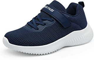 DREAM PAIRS Zapatillas deportivas transpirables para niños y niñas