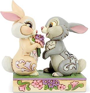 """Disney Traditions, Figura de Flor y Tambor de """"Bambi"""", para coleccionar, Enesco"""