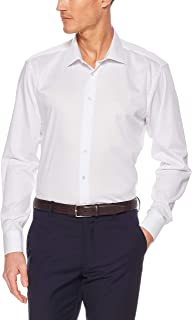 Calvin Klein Men's Slim Fit Organic Cotton Business Shirt