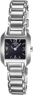 Tissot Women's T -Wave's Black Dial Color Steel Strap Watch - T02.1.285.52