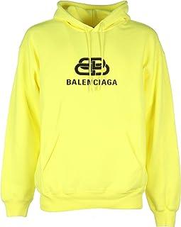 Balenciaga Luxury Fashion Mens 583215TFV617050 Yellow Sweatshirt | Fall Winter 19