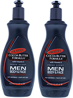 Palmers Cocoa Butter Men Body and Face Lotion - Pack of 2-13.5 oz Body Lotion