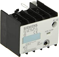 Siemens 3RT19 16-2CG21 Solid State Time Delay Block, Semiconductor Output, On Delay, Varistor Integrated, S00 Size, 0.5 - 10s Time Setting Range, 24-66VAC/VDC Rated Control Supply Voltage