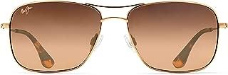 Maui Jim Sunglasses | Wiki Wiki HS246 | Aviator Frame, Polarized Lenses, with Patented PolarizedPlus2 Lens Technology