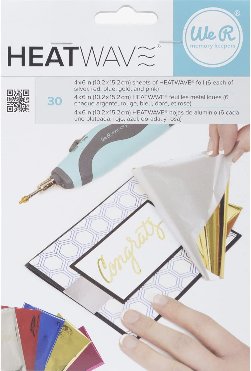 American NEW before selling Crafts 30 Piece We R Heatwave Memory Keepers Foil OFFicial site Pen