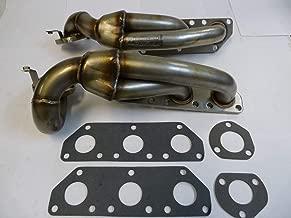 OBX Performance Turbo Manifold Exhaust Header 94-01 Audi S4 B5 A6 C5 Allroad Quattro V6 2.7L Bi-Turbo