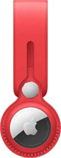 Apple Leren AirTag-Hanger - (PRODUCT) RED