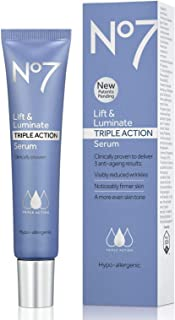 No7 Lift Luminate Triple Action Serum For Beauty Women 50 Milliliter, 1.69 US OZ