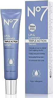 No7 Lift Luminate Triple Action Serum For Beauty Women 50 Milliliter, 1.69 US OZ