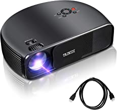 Projector, TAINIDI Video Projector 3600Lux, Full HD Projector with Big Screen, Home Theater Projector Support 1080P 2HDMI 2USB VGA AV Headphone Jack, Compatible Laptop DVD PS4 Amazon Fire TV Stick