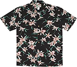 Paradise Found Men's Star Orchid Tom Sellect Magnum PI Hawaiian Shirt