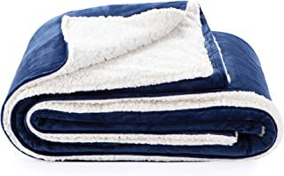 LinenspaMinkyand SherpaZipperedDuvet Cover for Weighted Blanket-10 Pre-Sewn Duvet Loops -Removable andMachineWashable