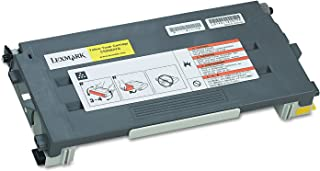 Lexmark C500S2YG Toner, 1500 Page-Yield, Yellow