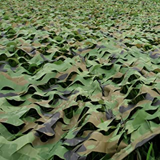 Image of KDDFN Portable Camouflage Net,Oxford Sun Net,Camping Net,Sunshade,Military Vehicle Net,Hidden Hunting,Outdoor Garden Decoration,Fishing Tent