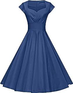 Best aqua vintage dress Reviews