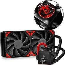 DEEPCOOL Captain 240EX AIO Liquid CPU Cooler, 240mm Radiator, Dual 120mm Black PWM Fans, AM4 Compatible, 3-Year Warranty