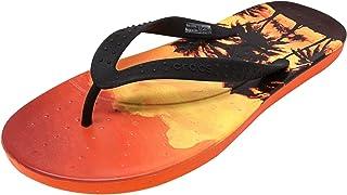 955980340baf FREE Shipping on eligible orders. Crocs Chawaii Tropics Flip Flops