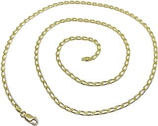 Never say never collana da uomo in oro massiccio 18 carati BLD75X60