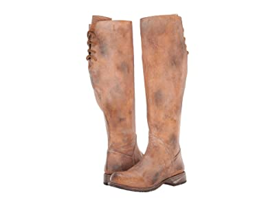 Bed Stu Manchester Wide Calf (Tan Rustic) Women